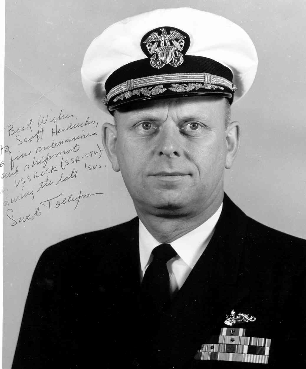 Capt. Leif (Swede)Tollefson